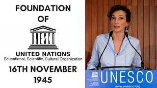 Download UNESCO - Formation and History - 16th November 1945 - On This Day Video