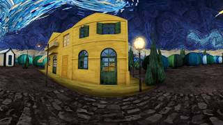 Download The starry night Stereo VR experience Video