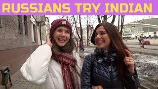 Download Russian Girls Try Indian Food For The First Time! 🇮🇳 Video