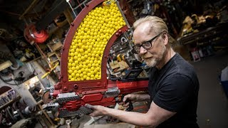 Download Adam Savage's One Day Builds: 1000 Shot NERF Blaster! Video