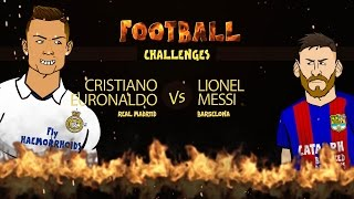 Download RONALDO vs MESSI: Football Challenges! (Advent Day 22) Video