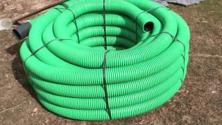 Download Realizzazione di un drenaggio semplice sul prato Video