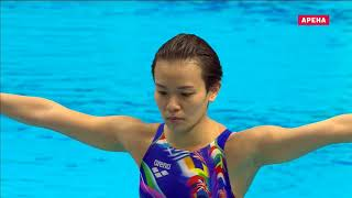 Download Budapest 2017 WC Diving Women 1 metre springboard Final Video