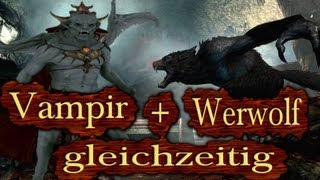 Download Skyrim - Werwolf und Vampir gleichzeitig sein! (Dawnguard Tutorial) Video