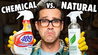 Download Name Brand vs. Natural Cleaning Product Test Video