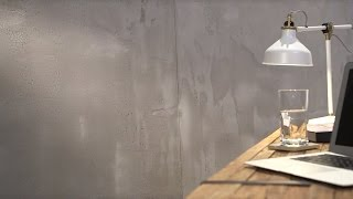 Download Mineral wall designs: exposed concrete appearance Video