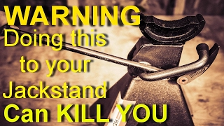 Download EXPERIMENT: WARNING! Doing this to your Jack Stands will get you KILLED! Video