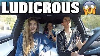 Download Ludicrous Reactions With My High School Friends (Near Crash) Video