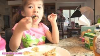 Download Bé Peanut Thức Dậy Muộn Xém Trể Học / Chị Bí Đỏ Làm Đồ Ăn Sáng Và Lunch Box Cho Peanut Đi Học Video