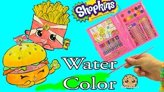 Download Shopkins Art Set Marker & Water Color Fast Food Picture Painting - Video Cookie Swirl C Video