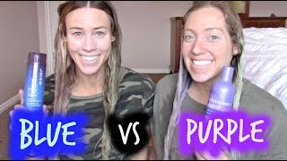 Download PURPLE VS BLUE Shampoo- What should you be using on you hair? Video