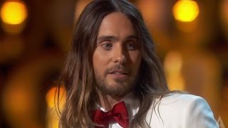 Download Jared Leto - ″They don't give Oscars to people like me″ Video