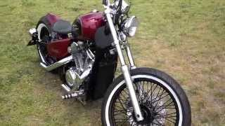 Download 2000 Honda Shadow VLX 600 Bobber Video