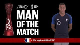 Download Kylian MBAPPE (France) - Man of the Match - MATCH 50 Video