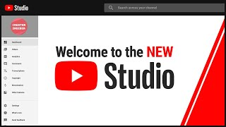 Download Introducing the NEW YouTube Studio Video