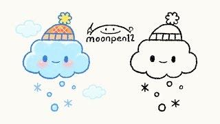 Download 겨울 구름 그리기 Video