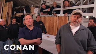 Download The CONAN Crew Demand A Better Nut Spoon - CONAN on TBS Video