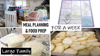 Download Meal Planning and Food Prep for a Week for a Family of 6 | Shamsa Video
