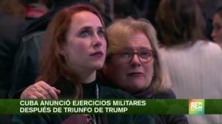 Download Cuba anunció ejercicios militares después de triunfo de Trump Video