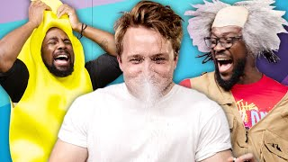 Download Try Not To Laugh Challenge #33 w/ WWE's New Day (Xavier Woods & Kofi Kingston) Video