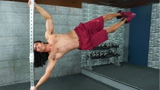 Download How To Do The Human Flag - Progression, Exercises & Tips Video