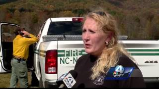 Download 5 wildfires continue to burn in warm and dry conditions in Nantahala National Forest Video