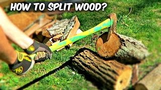 Download You've Been Splitting Firewood with an Axe Wrong Video