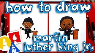 Download How To Draw Cartoon Martin Luther King Jr Video
