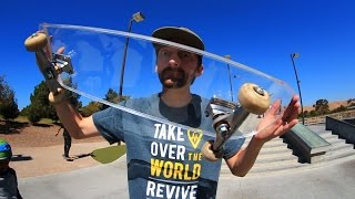 Download CRYSTAL CLEAR ACRYLIC SKATEBOARD | YOU MAKE IT WE SKATE IT EP 44 Video
