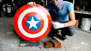 Download Homemade Heavy Duty Captain America SHIELD !? Video