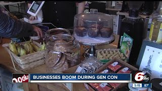 Download Businesses boom during Gen Con week Video