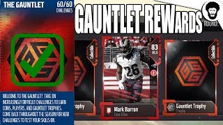 Download GUANTLET FINISHED!!! | Guantlet Rewards & Tips For Newbies W/ Tex | Madden 18 Pack Opening Video