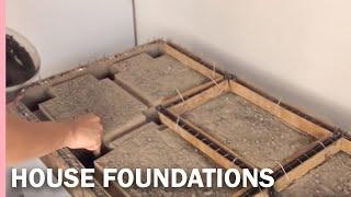 Download HOW TO MAKE the FOUNDATIONS of a HOUSE - como hacer los CIMIENTOS de una casa Video