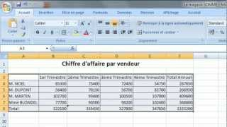 Download Le magasin SOMME Excel Exercice 1 Video