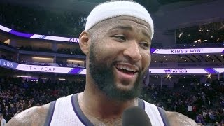 Download Joel Embiid vs DeMarcus Cousins! Funny Post Game Interview 76ers vs Kings Video