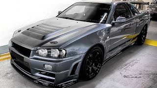 Download NISSAN SKYLINE R34 - THE KING OF STREETS Video