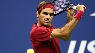 Download Best Roger Federer Drop Shots | 2017 & 2018 US Open Video