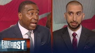 Download Cris Carter and Nick Wright on Kawhi Leonard's trade to Toronto Raptors | NBA | FIRST THINGS FIRST Video