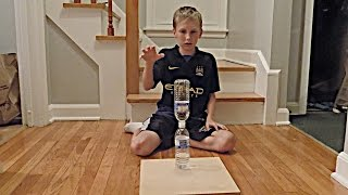 Download Water Bottle Flip Trick Shots 2 | That's Amazing Video
