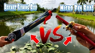 Download Fishing With Micro Pen Fishing Rod & Rocket Fishing Rod Video