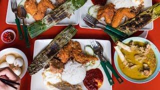 Download Famous Singaporean Food - Adam Road NASI LEMAK in Singapore! Video