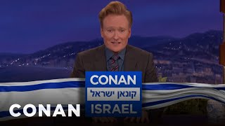 Download Conan Announces ″Conan Without Borders: Israel″ - CONAN on TBS Video