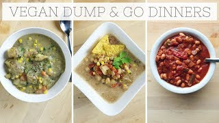 Download DUMP DINNERS | Healthy Slow Cooker Recipes (Meal Prep) Video