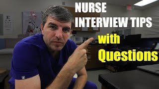 Download NURSING INTERVIEW example with questions Video