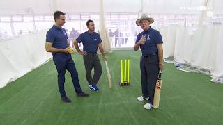 Download Cricket Masterclass: How to bat long in Tests with Vaughan, Ponting and Boycott Video