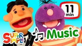 Download The Super Simple Show - Music | Cartoons For Kids Video