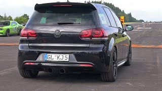 Download 800HP Volkswagen Golf 6 R 3.6 HGP Biturbo! Video