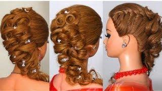 Download Прическа на длинные волосы. Hairstyle for long hair Video