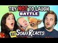 Download Try To Watch This Without Laughing or Grinning Battle #5 (ft. FBE Staff) Video