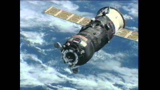 Download Re-Supply Ship Docks with Space Station Video